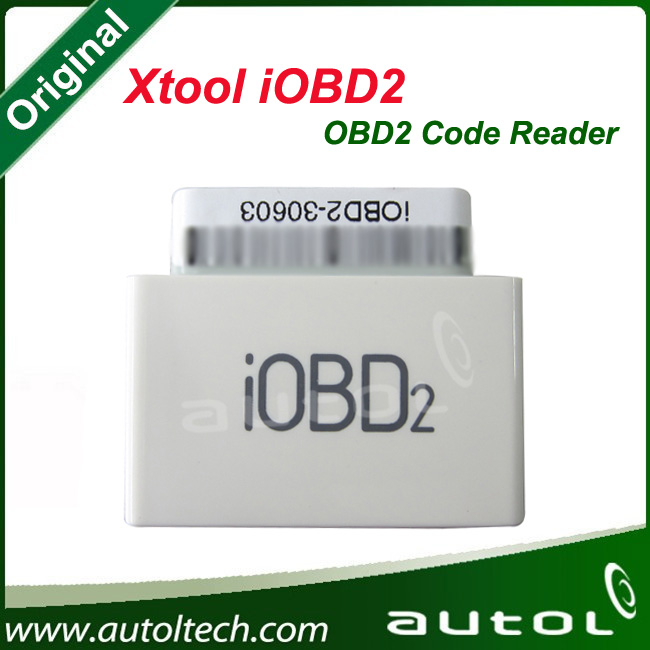Xtool IOBD2 For Andriod 100% Original Universal Car Code Reader All OBD II/EOBD Vehicles used on Android Bluetooth/Wifi