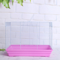 hot selling pink metal pet rabbit cage crate bunny cages in home