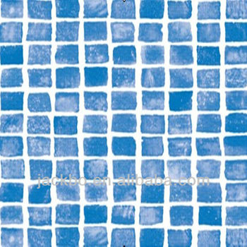 Mosaic PVC pool liner for swimming pool
