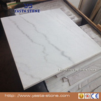 Wholesale USD19 Cheap Price A Grade Floor Tiles White Marble
