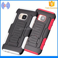 Trendy fashion Rubberized Hard Shell Case Cover Belt Clip Holster Stand cheap phone cases for LG L7X single card / P714