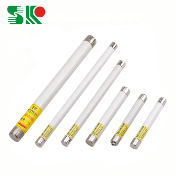 low price hv ceramic electrical fuse of high breaking capacity