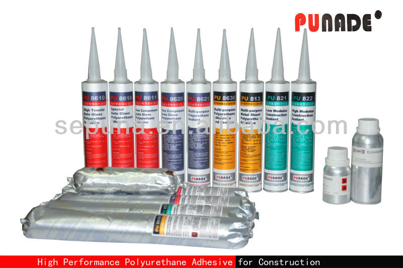 Waterproof PU Polyurethane building/ construction material window joint adhesive sealant/ glue