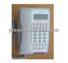 New incoming message LED indicator hotel doorphone PY-9002B (Caller ID)