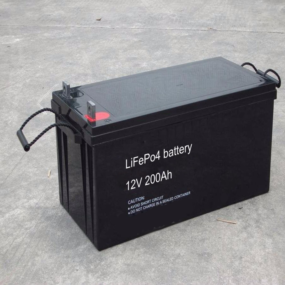 Recharge lithium ion battery 12v 200ah