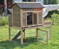 wooden outdoor design rabbit cage house hutch