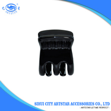 Hot sale black plastic hair claw clips mini hair claws small hair claws for kids