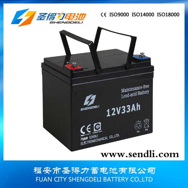 Lead acid 12v38ah solar battery for ups system maintenance free