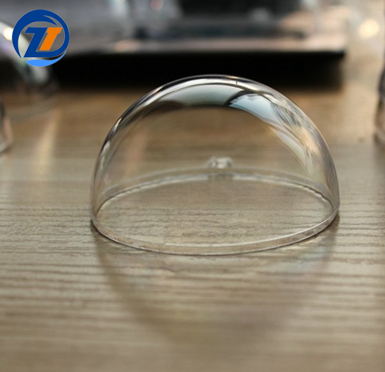Clear acrylic transparent openable hollow ball plastic sphere