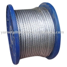 China wholesale 6x12+7FC S.S.wire rope 304 316