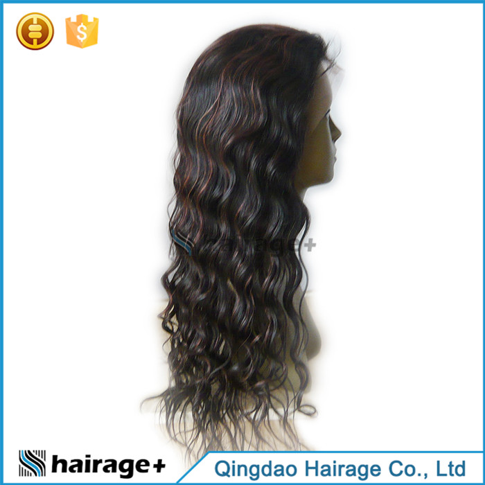 High Quality Full Lace Wig For White Women Human Hair