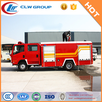 Famous brand foam and water fire fighting truck price