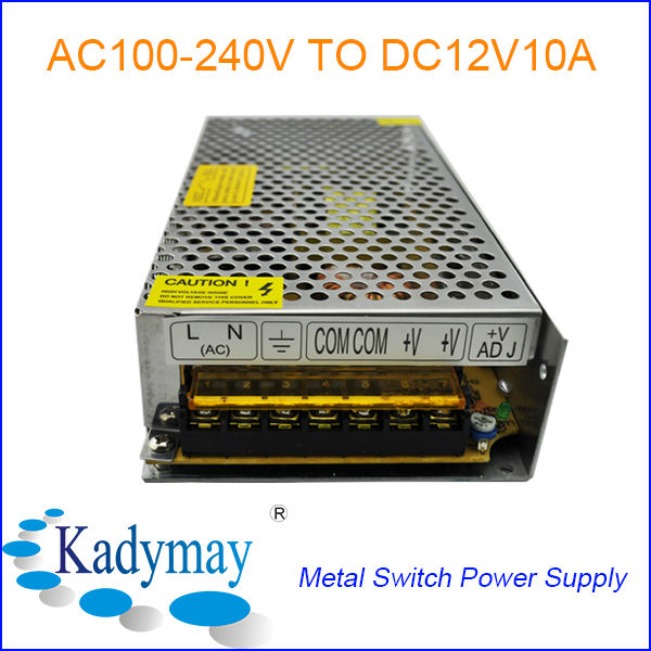 Modern and Adjustable AC DC 12V 10 AMP Power Supply, By manufacturer&Supplier