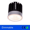 Indoor black housing recessed 6w COB led panel ceiling light lamp dimmable led downlight