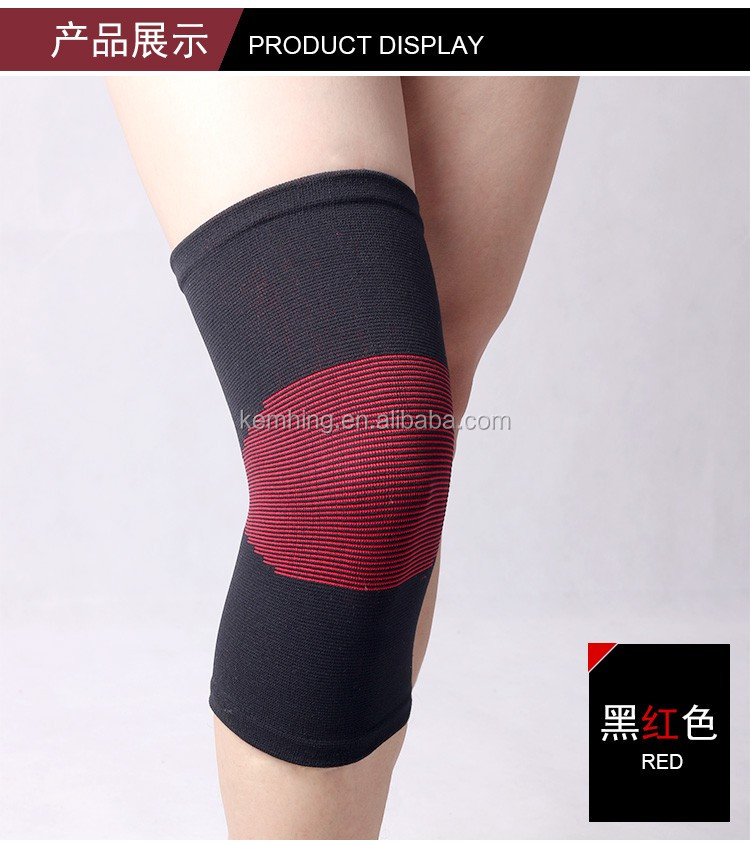 protective sleeve keep warm cotton knee brace strap support