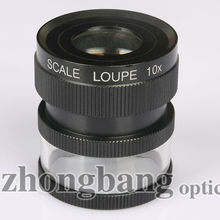 10x cylinder scale loupe