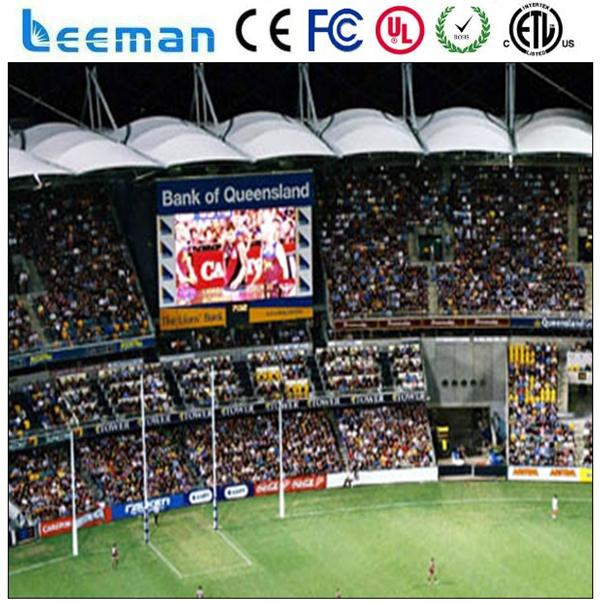sport stadium led display led table tennis scoreboard led perimeter panel display
