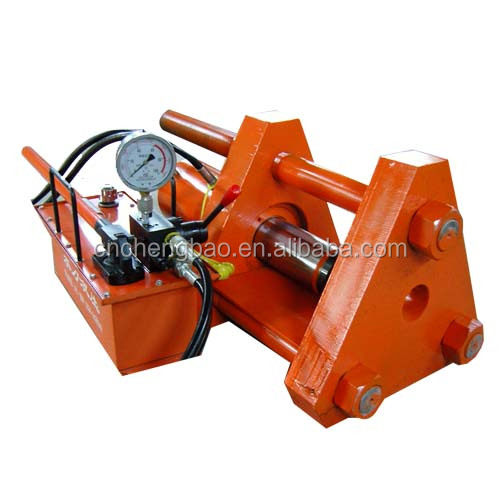 portable hydraulic track pin press machine