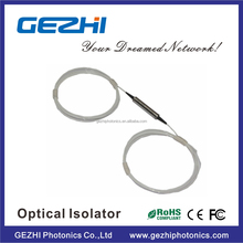 High Quality 1585nm Fiber Optical Isolator for CATV links with High Isolation