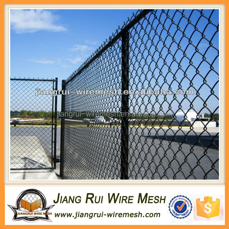 Electric galvanized chain link fence wire