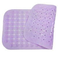 Shower color changing pvc non slip bath mat