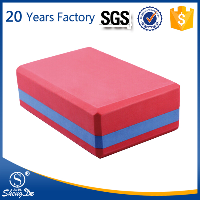 Widely Used Colorful Eco EVA Material Yoga Brick
