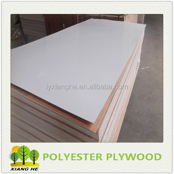 2mm White Polyester Plywood Surabaya for Furniture