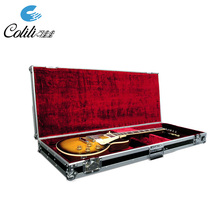 Wholesale Custom Durable Long Classical Bass Guitar Flight Case with Wheels