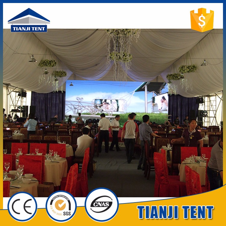best quality wedding tent with air conditioning manufacture