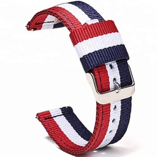 High quality nylon watch strap for apple watch 38mm and 42mm quick released
