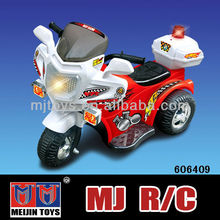 2016 hot sale battery kids ride on plastic motorcycle with light