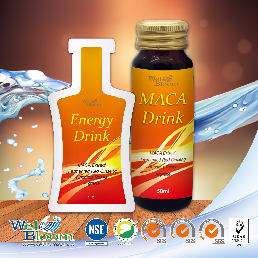 MIT Natural Healthy Powerful Peru Maca Vigor Drink