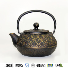 enamel japanese antique cast iron teapot 800ml water kettle