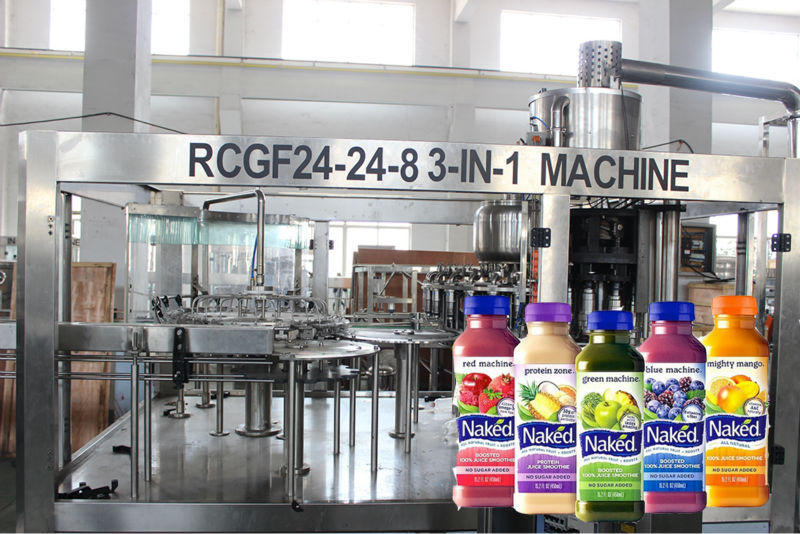 small scale juice bottled filling line/PET packing machine