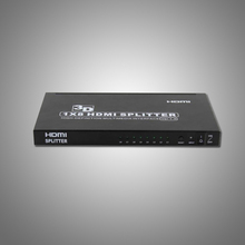 Video Splitters HDMI 1x8 4K Hdmi Splitter V 1.3b compatible c1.4 3D 1080p swither 5 8 PS3 XBOX360 DVD Blu-ray