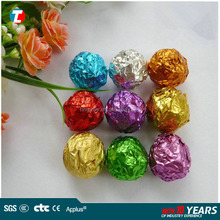 colored chocolate aluminum foil food packaging wrapping paper