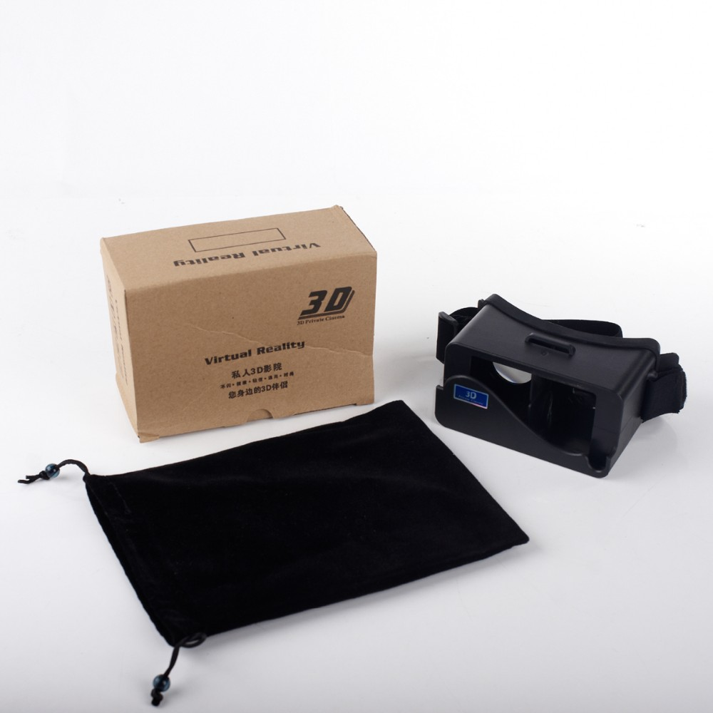 2016 Google Cardboard VR Headset Virtual Reality 3D Glasses VR Box 1.0