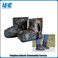 Soft And Warm Camo Military Boot