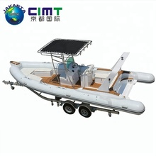 2018 new technology high quality fiber glass bottom electric water boat motor inflatable fiberglass boat