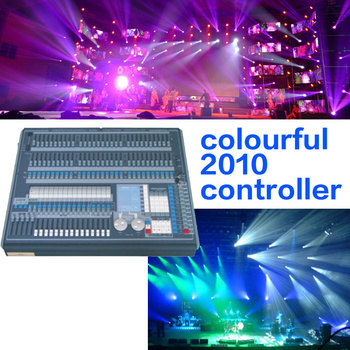 affordable stage lighting control panel pearl 2010 dmx computer led light controller