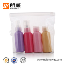 convenient portable yuyao factory price cosmetic bottle set travel beauty kit