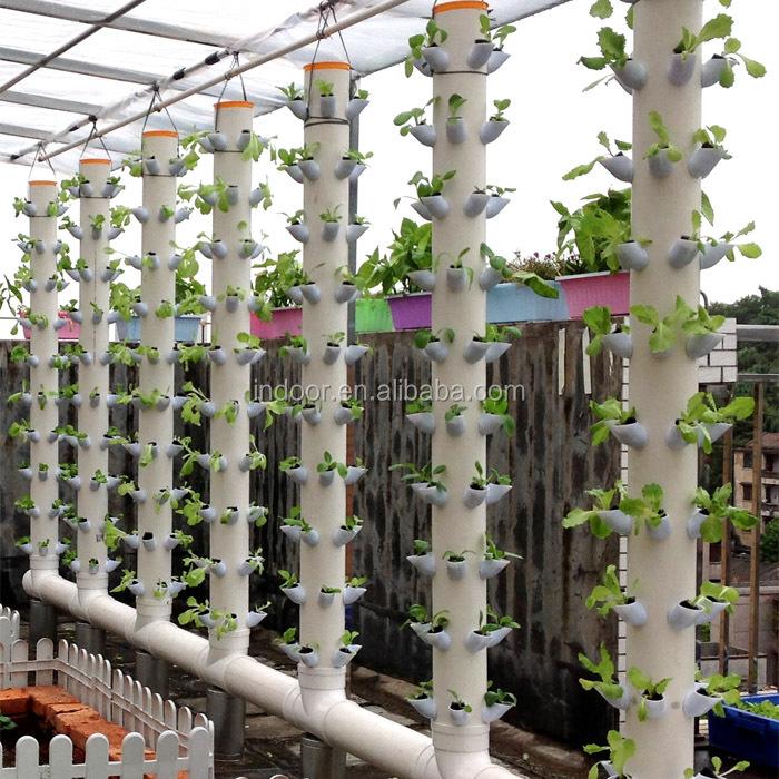 O cultivo de hortali?as jardim vertical sistema de Torre ...