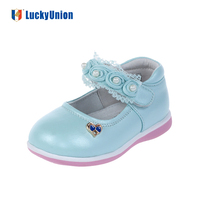 Lace Baby Leather Formal Shoes With