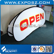 Portable Outdoors / Indoor Ground Banner Display