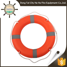 Competitive price solas plastic life ring orange buoy ring light