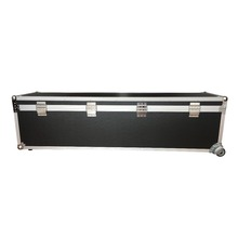 Custom high duty aluminum dj fight case with wheels
