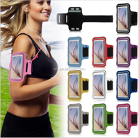 Universal Out Door Brush Cover Gym Case For iPhone 6 Plus Arm Band Accessories Holder For Samsung Galaxy A3 E3 J3 S2