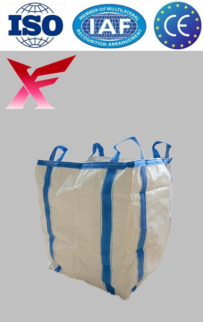 Accept payment by L/C 100% virgin pp 1 ton plastic baffled jumbo bag