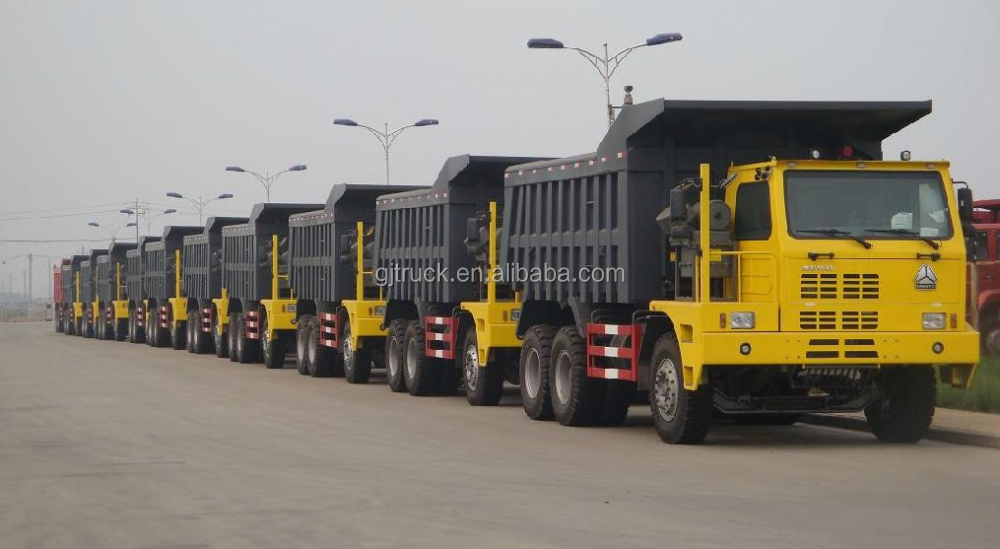 6x4 Howo tipper <strong>truck</strong> for 80T loading weight for big stone