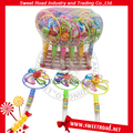 Plastic Big Windmill Fan Candy Toys